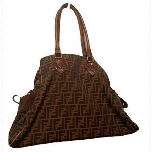 Fendi vintage shoulder bag, authentic